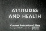 Still frame from: Attitudes and Health