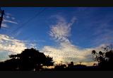 12-2-14 sunset over Molokai
