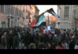 Still frame from: In Piazza per la Palestina