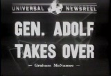 Still frame from: Gen. Adolph Takes Over, 1942/01/07