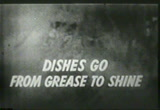 Still frame from: 1953 commercial for Joy dishwashing liquid