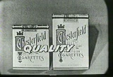 Still frame from: 1954 Commercial for Chesterfield