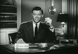 Still frame from: 1954 Commercial for Lucky Strike Cigarettes - Ad 2