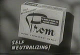 Still frame from: 1954 Commercial for Prom home permanent (Ad 2)