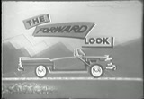 Still frame from: 1955 Commercial for Chrysler ''Forward Look''