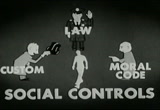 Still frame from: Law and Social Controls