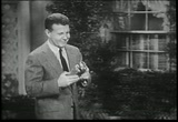 Still frame from: 1958 TV Commercial for Kodak Home-Movie Cameras (No 3 of 3)