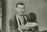 Still frame from: Classic 1958 Commercial for Jell-O Pudding with Johnny Carson