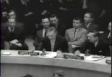 Still frame from: U-2 At U.N. Reds Now Charge U.S. Menaces Peace, 1960/05/23