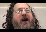 Still frame from: 20090203 Richard Stallman at UofC