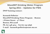 Still frame from: 2011 Drinking Water Updates for PWS