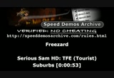 Still frame from: December 1, 2012 SDA Speed Runs