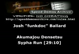 Still frame from: December 5, 2012 SDA Speed Runs