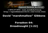 Still frame from: March 1, 2013 SDA Speed Runs