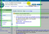 Still frame from: Choosing an Ebsco database