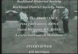 Still frame from: A Tribute to Eliza Steele-Rockland's Legendary Nurse
