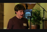 Still frame from: Aaron Swartz Memorial at the Internet Archive, Part 2