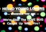 Still frame from: Young Lover Message (from Drive-In Movie Ads)
