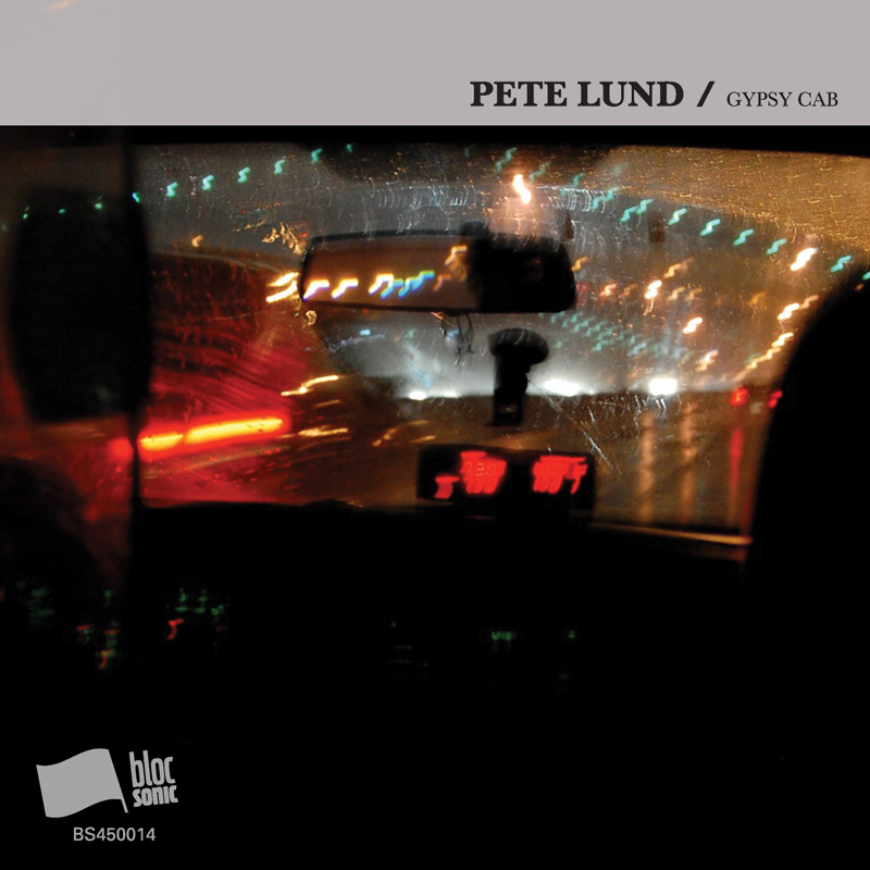 Cover of Pete Lund 'Gypsy Cab'
