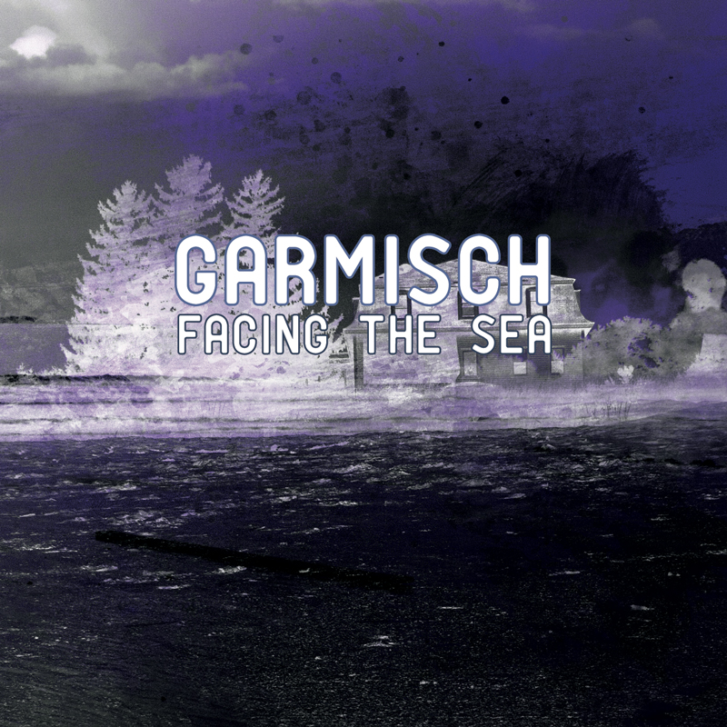 Cover of Garmisch's 'Facing the Sea'