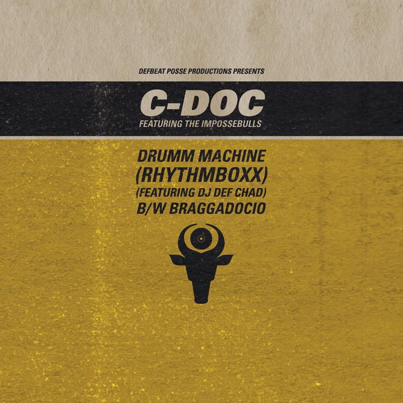 Cover of C-Doc's 'Drumm Machine (RhythmBoxx)'