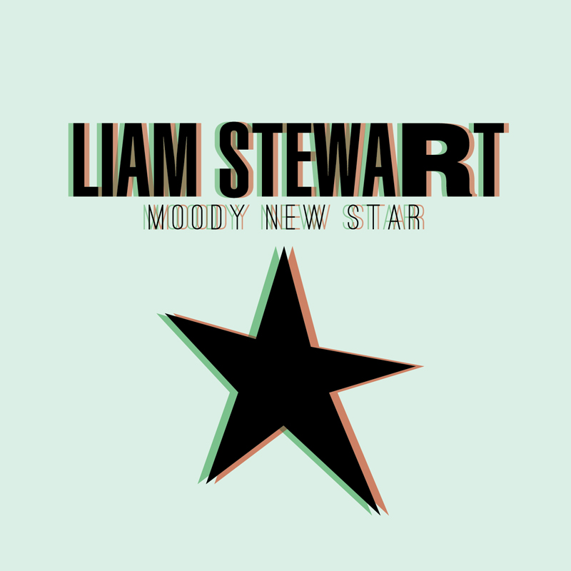 Cover of Liam Stewart's 'Moody New Star'