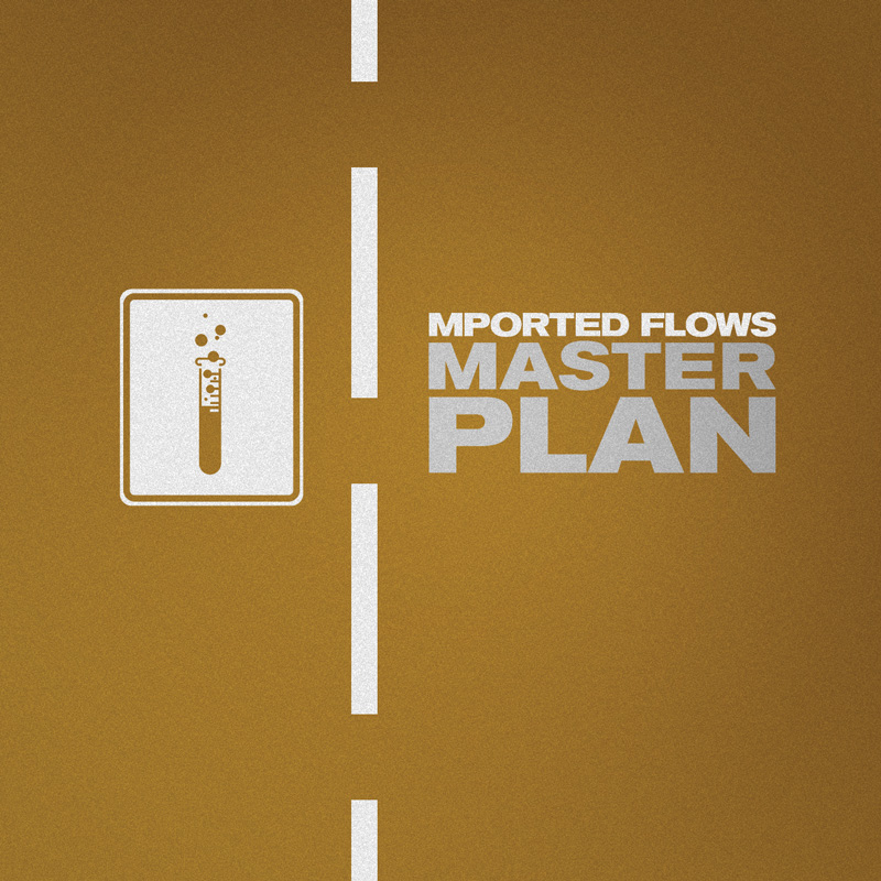 Cover of Mported Flows 'Master Plan'