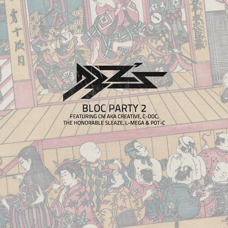 Cover of D3Zs 'Bloc Party 2'
