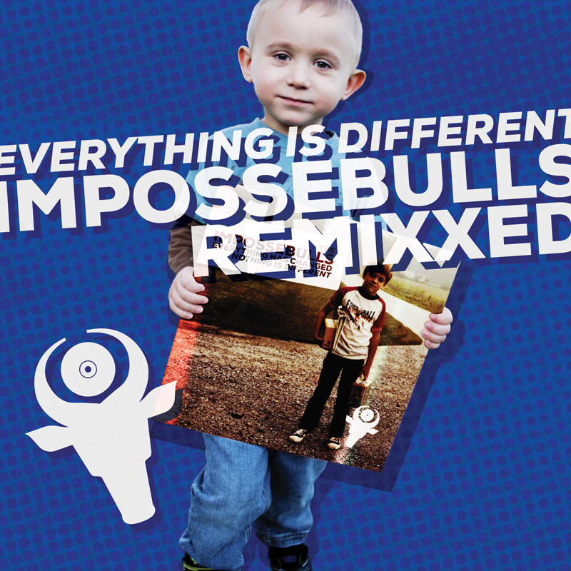 Cover of The Impossebulls 'Everything is Different: Impossebulls Remixxed'