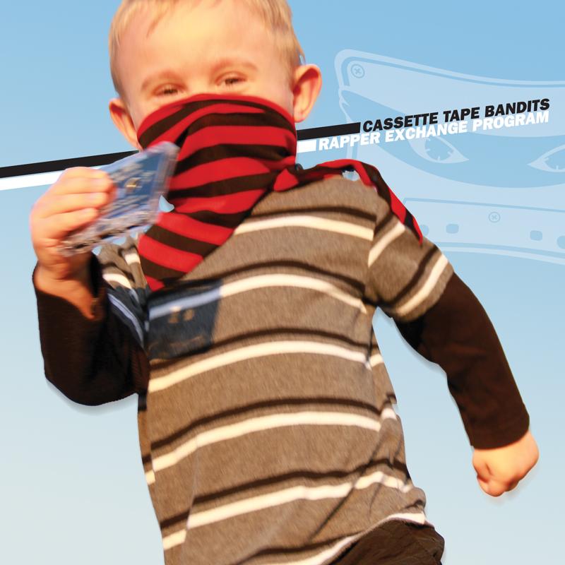Cover of Cassette Tape Bandits 'Rapper Exchange Program'