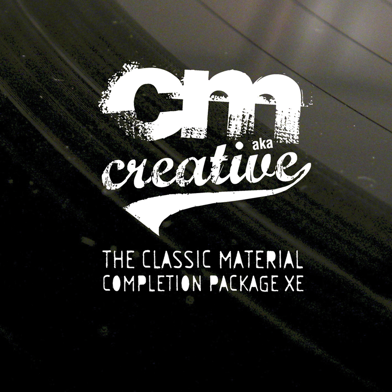 Cover of CM aka Creative - The Classic Material Completion Package XE