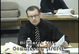 Still frame from: Bismarck City Commission 2011-11-08