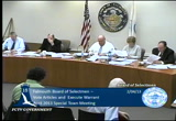 Still frame from: Board of Selectmen February 4, 2013