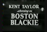 Still frame from: BOSTON BLACKIE TV SHOW
