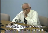 Still frame from: Burleigh County Commission 2011-08-18