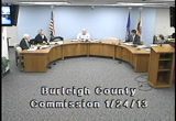 Still frame from: Burleigh County Commission 2013-01-24