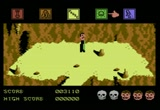 Still frame from: C64-Gamevideoarchive 290 - Dragon Skulle