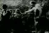 Still frame from: Charlie Chaplin's 'His Prehistoric Past'