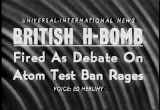 Still frame from: British Hydrogen Bomb Explosion