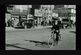 Still frame from: [Street scenes, city in Japan, late 1940s]