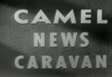 Still frame from: Camel News Caravan - 28/September/1954