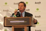 Still frame from: Cheryl Shuman at KUSHCON II in Denver Introduces Irv Rosenfeld