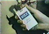 Still frame from: Cigarette Commercials Kool
