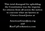 Still frame from: Citizens Grand Jury - Serves Obama Treason and Fraud Presentment in D.C