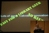 Still frame from: Code4Lib 2009: Great facets, like your relevance, but can I have links to Amazon and Google Books?