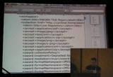 Still frame from: Code4Lib 2009: Open Up Your Repository With a SWORD!