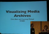 Still frame from: Code4Lib 2009: Visualizing Media Archives: A Case Study