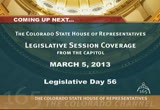 Still frame from: Colorado House 2013 Legislative Day 56 030513 F