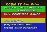 Still frame from: Computer Games