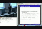 Still frame from: Day 1 Part 15: Introduction to Trusted Computing